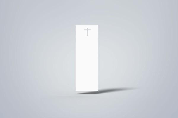 Kreuzschnitt-Etiketten, 40x120 mm
