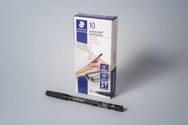 Lumocolor 303 M - 0,8 mm - schwarz