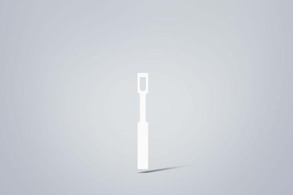 Multicran-Etiketten auf Rolle, 13x120 mm