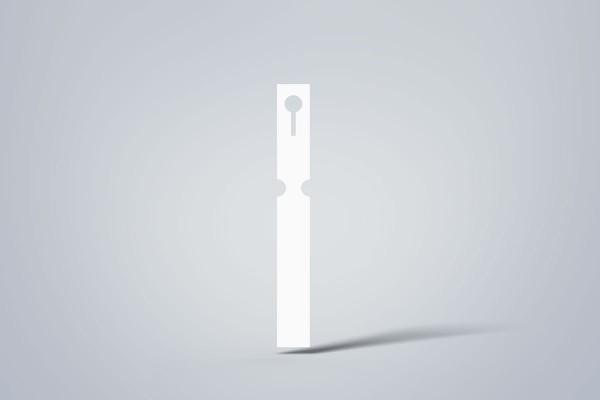 TT-Schlaufen auf Rolle, 25x200 mm, 4-bahnig