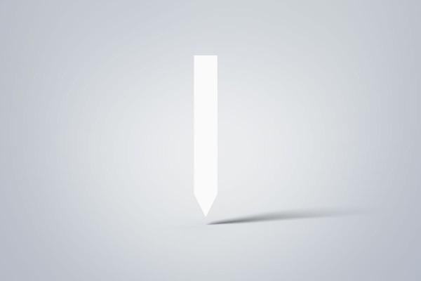 Steck-Etiketten, 20x140 mm